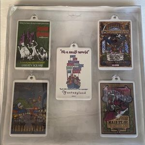 Disney WDW 2006  5-Ornaments